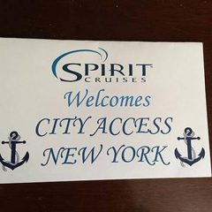 Spirit Cruises Welcome Banner