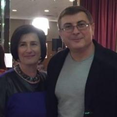 Sophia Rossovsky and Sergey Frasnov.