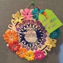 Another beautiful card made by a participant.