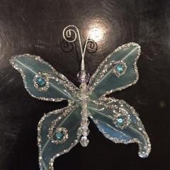 A beautiful handmade butterfly.