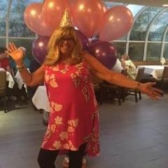 Francesca Farin, a DayHab Coordinator, celebrates her birthday.