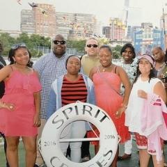 Participants aboard Spirit Cruises.