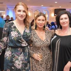 Aileen Chumard Fuchs, Regina Boukhvalova and Sophia Rossovsky