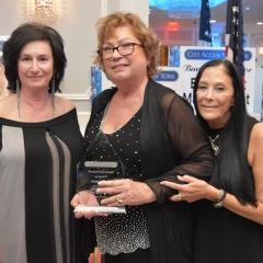 Sophia Rossovsky, Laura Moretti and Ilene Rosen