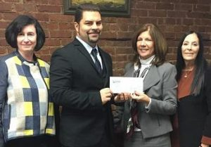 City Access receives a grant check.