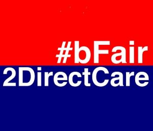 Be Fair to Direct Care logo