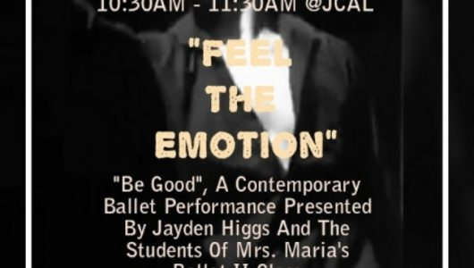 Flyer for a contemporary ballet performance