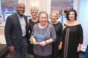Ellen Rubin with CANY Board of Directors