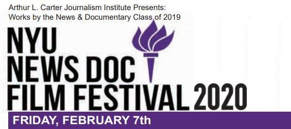 NYU Film Festival logo